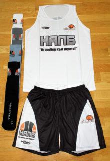ПРОМОЦИЯ: Бял потник, черни шорти и чорапи (по избор) – 23.00 лева