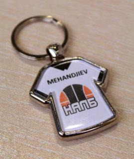 Метален ключодържател с име – 5.00 лева