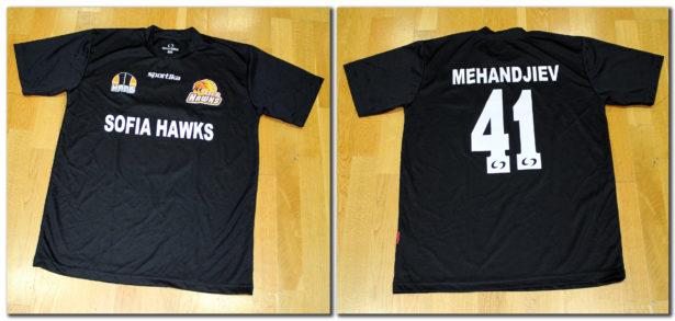 Тениска за загрявка (втори вариант) - 25.00 лева*