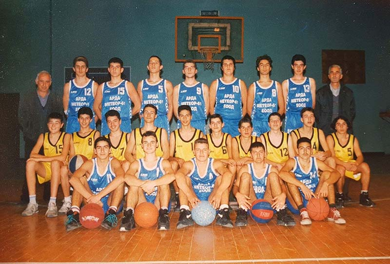 Отборът на Арда Кърджали, Сезон 1996/1997, Михаил Захариев е с номер 5