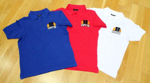 """Персонализирана дамска тениска с яка в цвят по избор (без надписа """"NALB TEAM"""" на гърба) – 35.00 лева*"""