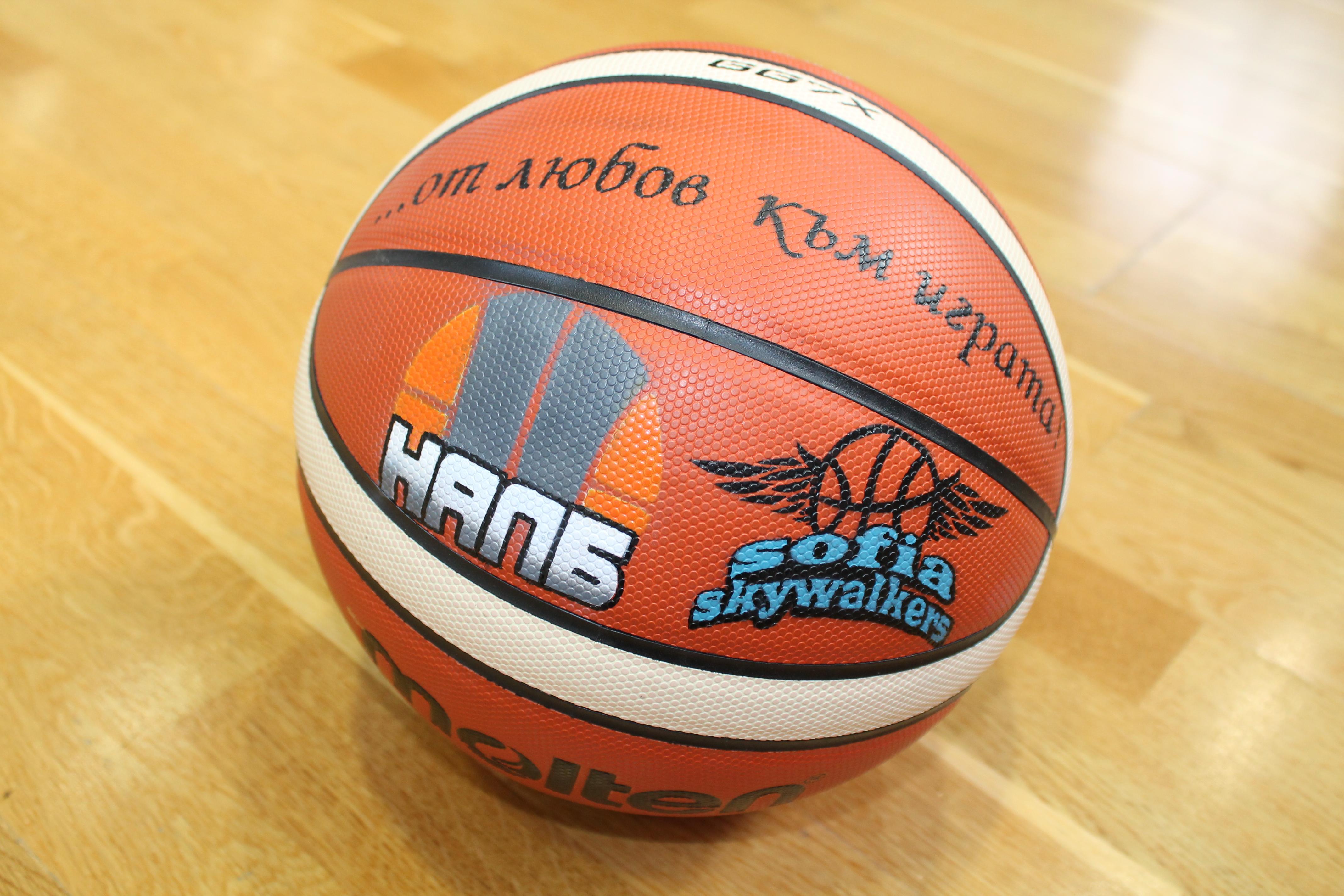 Персонализирана баскетболна топка – Molten GG7X, официална топка на германската федерация, изработена по нова технология и утвърдена от ФИБА за периода от 2015 до 2020 година – 150.00 лева*
