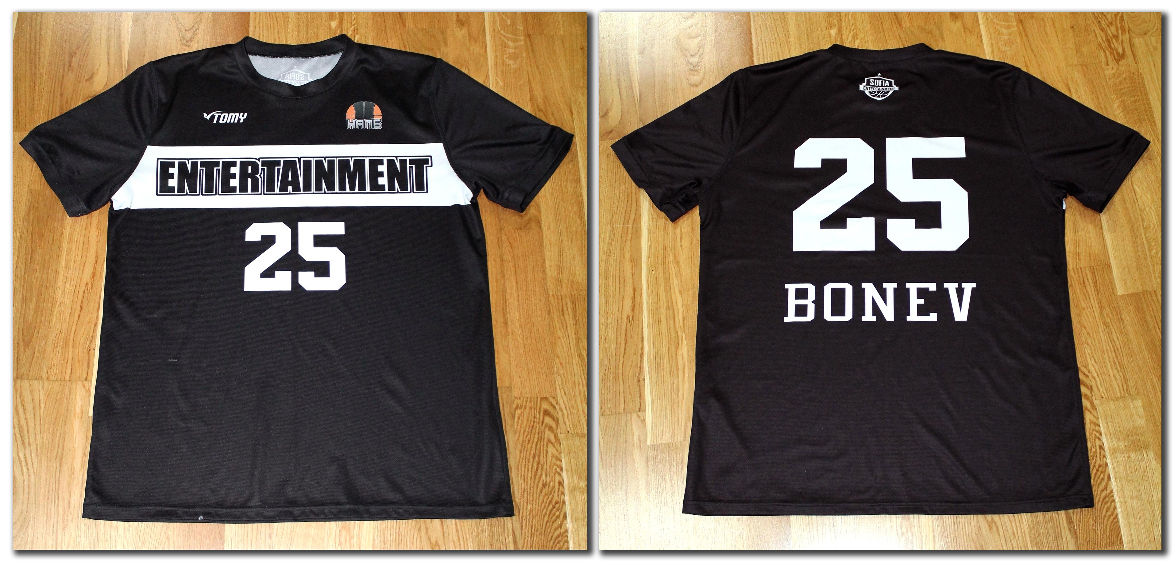 Тениска за загрявка (първи вариант) - 25.00 лева*