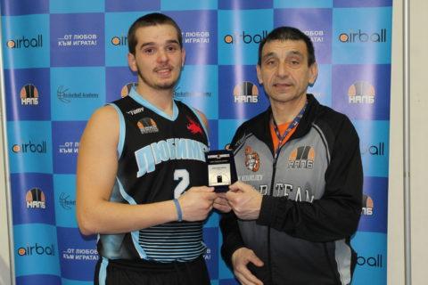 Борислав Каменов и Марин Механджиев