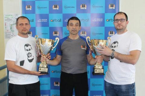 Николай Кръстев, Марин Механджиев и Радослав Чемширов