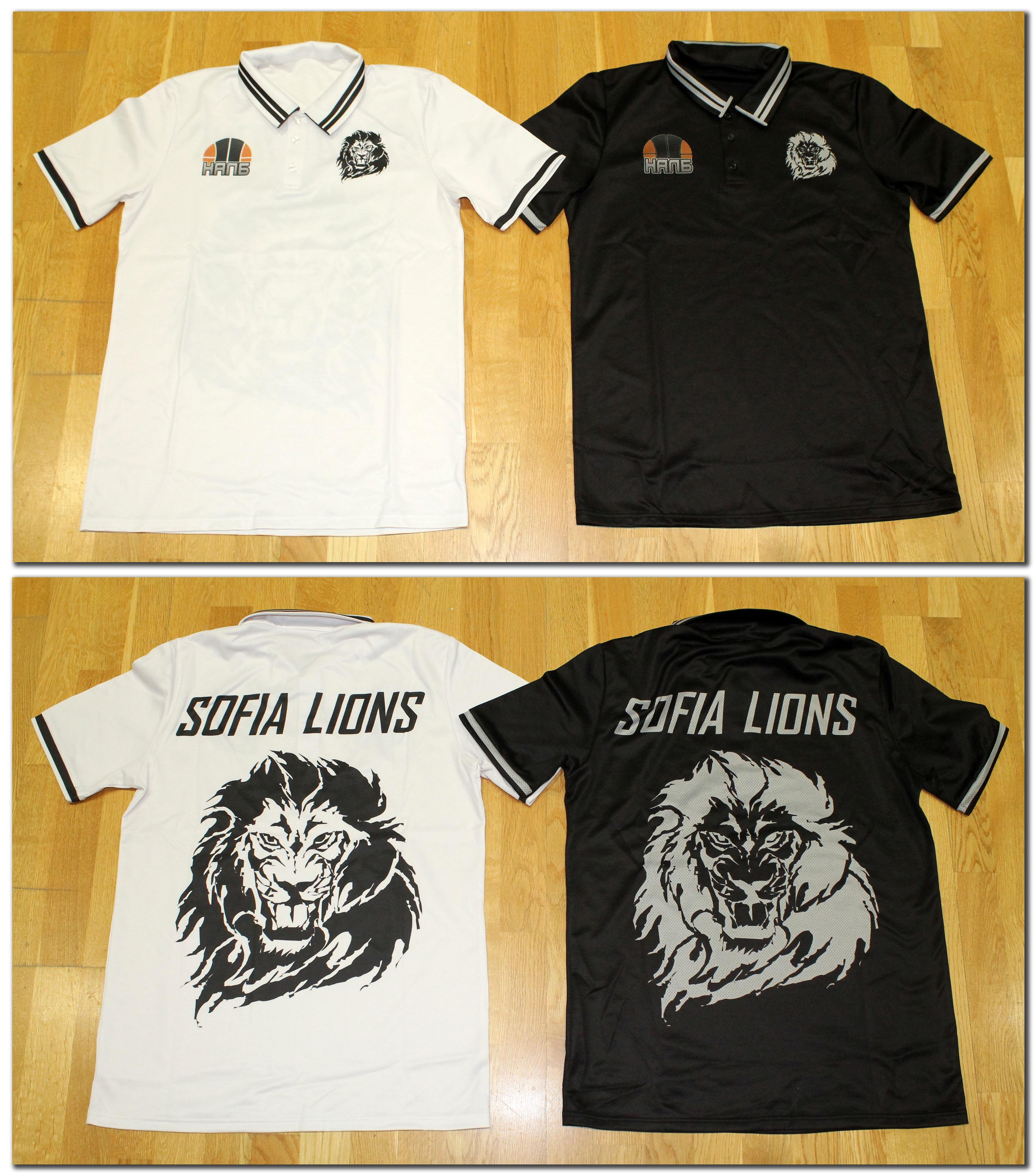 Тениска с яка (100% памук отвътре, 100% полиестер отвън) - 28.00 лева*